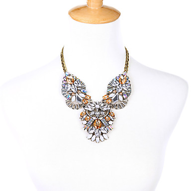 Γυναικεία Σκέλη Κολιέ Flower Shape Μοναδικό Euramerican Λευκό Κοσμήματα Για Πάρτι Χριστουγεννιάτικα δώρα 1pc