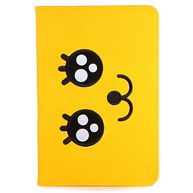 Voor apple ipad mini1 2 3/4 case cover met tribune flip patroon full body case cartoon hard pu leer