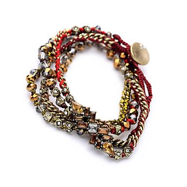 Γυναικεία Wrap Βραχιόλια Κοσμήματα Φιλία Μοντέρνα Κράμα Round Shape Κοσμήματα Για Γάμου