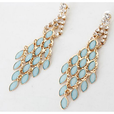 Γυναικεία Κρεμαστά Σκουλαρίκια απομιμήσεις Sapphire απομίμηση διαμαντιών Κρεμαστό Μοντέρνα Euramerican κοστούμι κοστουμιών Ζιρκονίτης