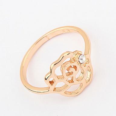 Bărbați Pentru femei Inel Band Ring Diamant sintetic Personalizat Floral Design Unic Stil Logo Design Animal Clasic Vintage Boem De Bază