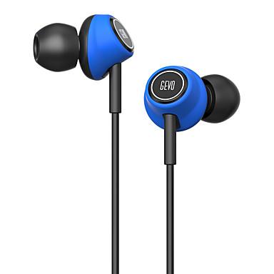 GV6 W uchu Przewodowy/a Słuchawki Piezoelektryki Plastikowy Telefon komórkowy Słuchawka z mikrofonem Zestaw słuchawkowy