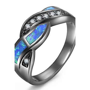 Pentru femei Inele Afirmatoare Inel Inel de logodna Sintetic Opal Iubire Inimă La modă Personalizat Euramerican Articole de ceramică