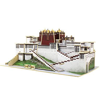 3D Yapbozlar Yapboz Modely Ahşap Modeli Oyuncaklar Ünlü Binası Çin Mimarisi Mimari 3D Tahta Çocuklar için 1 Parçalar