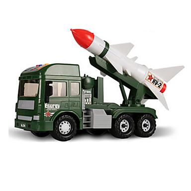 Jucării pentru mașini Vehicul de Construcție Vehicul Militar Jucarii Muzică și lumină Car de Război ABS Plastic 6 Bucăți Unisex Cadou