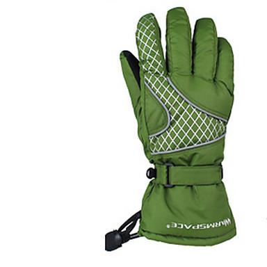 Unisex Vollfinger warm halten Wasserdicht Windundurchlässig tragbar Atmungsaktiv Verhindert Scheuerung Schützend Sporthandschuhe Baumwolle