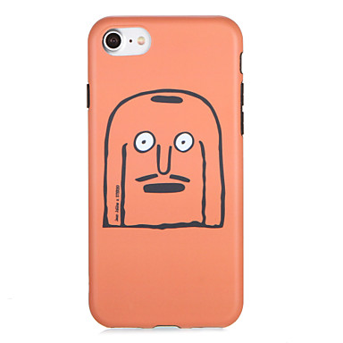 Voor apple iphone7 7 plus case cover patroon achterkant behuizing cartoon soft tpu 6s plus 6 plus 6s 6