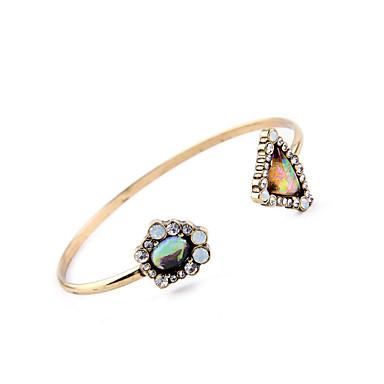 Γυναικεία Χειροπέδες Βραχιόλια Κοσμήματα Μοντέρνα Κράμα Geometric Shape Ουράνιο Τόξο Κοσμήματα Για Γάμου Πάρτι 1pc