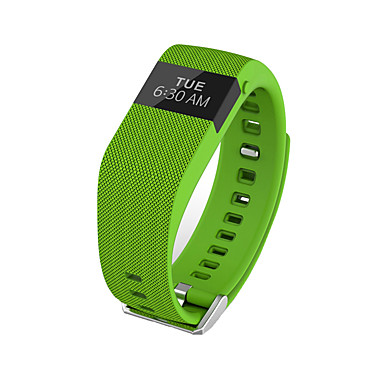 Yy jw86 / tw64s erkek bayan akıllı bilezik / smarwatch / kalp hızı monitör sm bilekli uyku monitör ios için renk ekranı android telefon