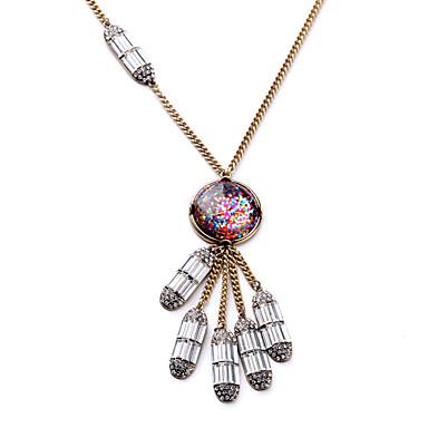 Damskie Naszyjniki z wisiorkami Geometric Shape Unikalny Osobiste Biżuteria Na Casual