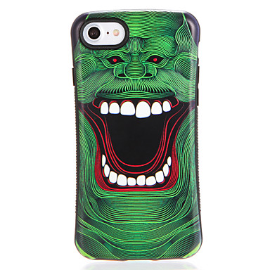 Hülle Für Apple iPhone 7 Plus iPhone 7 Muster Rückseite Cartoon Design Weich TPU für iPhone 7 Plus iPhone 7 iPhone 6s Plus iPhone 6s