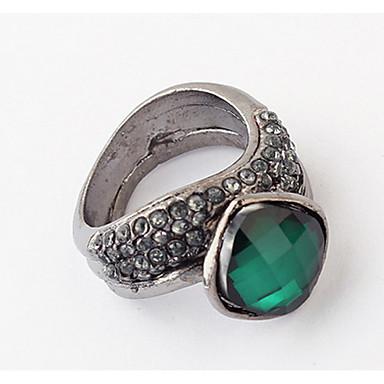 Herrn Damen Ring Bandring Synthetischer Diamant Personalisiert Einzigartiges Design Logo Stil Tier Design Klassisch Retro Böhmische