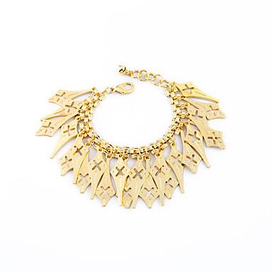 Damskie Bransoletki i łańcuszki na rękę Postarzane Stop Geometric Shape Biżuteria Na Impreza Specjalne okazje 1szt