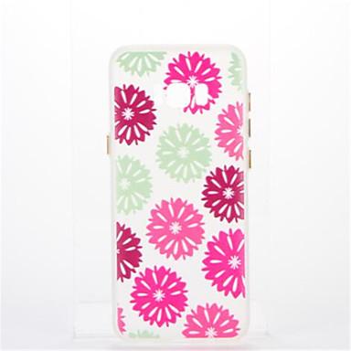 tok Για Samsung Galaxy S8 Plus S8 Επιμεταλλωμένη Λάμπει στο σκοτάδι Πίσω Κάλυμμα Λουλούδι Μαλακή TPU για S8 S8 Plus