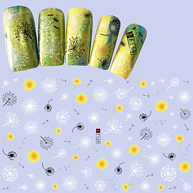1 Nagelkunst sticker 3D Nagelstickers make-up Cosmetische Nagelkunst ontwerp
