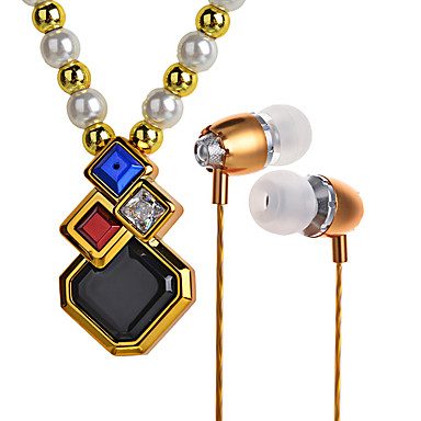 Bl100 moda kolye kolye kulaklık stereo bluetooth kulaklık seti
