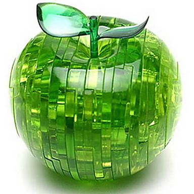 Puzzle 3D Puzzle Crystal Apple 3D Distracție Plastic Clasic Unisex Cadou