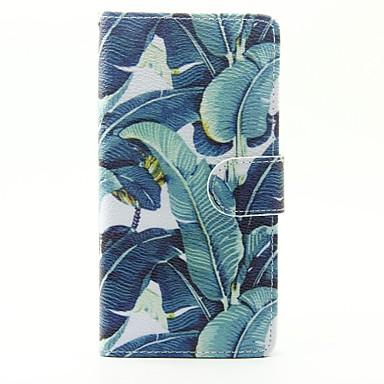 Für huawei p9 lite p8 lite y625 die Blumen Muster PU Ledertasche
