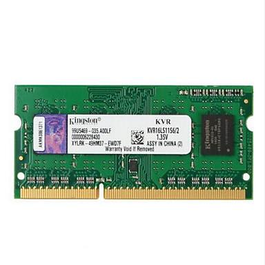 Kingston RAM 2GB DDR3 المحرك حتى 1600MHz مفكرة / ذاكرة الكمبيوتر المحمول