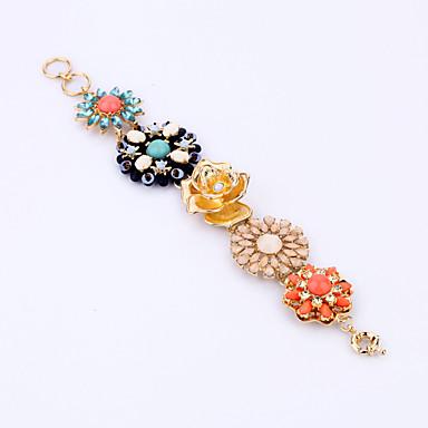 Γυναικεία Βραχιόλια με Φυλαχτά Κοσμήματα Φιλία Μοντέρνα Κράμα Flower Shape Ουράνιο Τόξο Κοσμήματα Για Πάρτι Γενέθλια 1pc