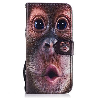 Kılıf Na Samsung Galaxy S8 Plus S8 Etui na karty Portfel Z podpórką Flip Magnetyczne Wzór Pełne etui Zwierzę Twarde Skóra PU na S8 Plus