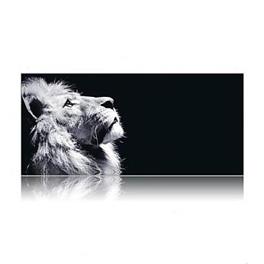 Super suuri koko 90cm * 40cm leijona tulostaa peli hiirimatto matto kannettava pelaamista hiirimatto