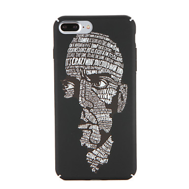 Için Kılıflar Kapaklar Temalı Arka Kılıf Pouzdro Karikatür Kelime / Cümle Sert PC için AppleiPhone 7 Plus iPhone 7 iPhone 6s Plus iPhone