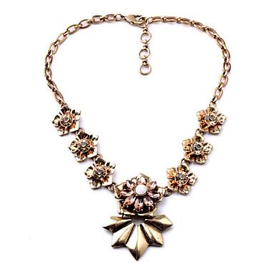 Pentru femei Lănțișoare Cristal La modă Personalizat Euramerican Floral Bijuterii Pentru Nuntă Petrecere