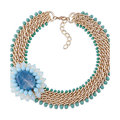 Pentru femei Lănțișoare Design Unic Stil Floral Personalizat Euramerican Bijuterii Pentru Nuntă Petrecere 1 buc