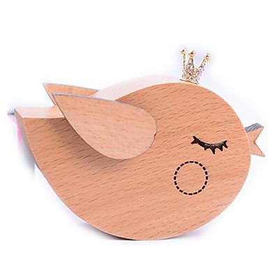 Spieluhr Quadratisch Geschenk Kinder Erwachsene Geschenk Holz Metal Mädchen