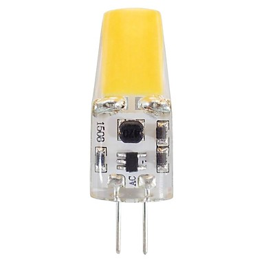 2W G4 أضواء LED Bi Pin T 1 المصابيح COB ديكور أبيض طبيعي أبيض 220-240lm 4000-4500/6000-6500K AC/DC 12V