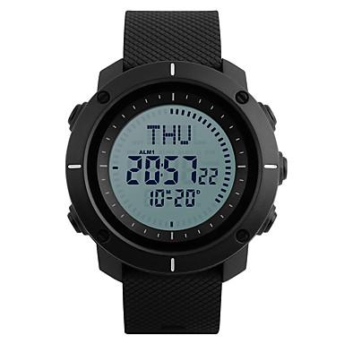 SKMEI Herrn Sportuhr Militäruhr Modeuhr Armbanduhr Digitaluhr Japanisch digital Alarm Kalender Chronograph Wasserdicht LED Kompass