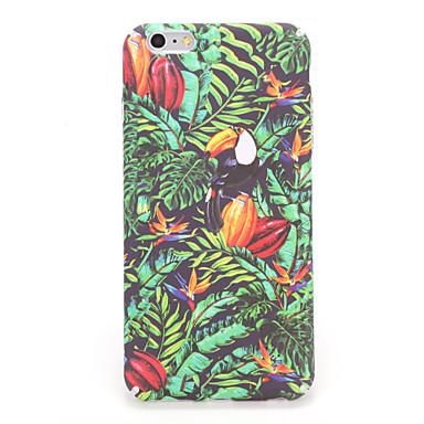 Apple iphone 7 için 7plus kılıf örtüsü arka kapak kılıfı ağaç çiçek sert pc 6s artı 6 artı 6s 6