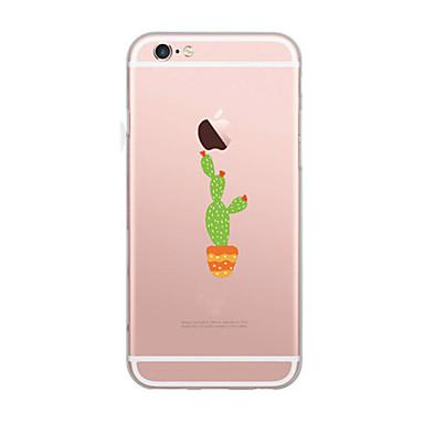 غطاء من أجل Apple نحيف جداً نموذج غطاء خلفي كارتون ناعم TPU إلى iPhone 7 Plus iPhone 7 iPhone 6s Plus iPhone 6 Plus iPhone 6s iPhone 6