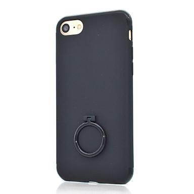 Hülle Für iPhone 7 iPhone 7 plus iPhone 6s Plus iPhone 6 Plus iPhone 6s iPhone 6 Apple Ring - Haltevorrichtung Mattiert Rückseite