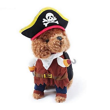 كلب ازياء تنكرية ملابس الكلاب جميل كاجوال/يومي موضة سادة بني كوستيوم للحيوانات الأليفة