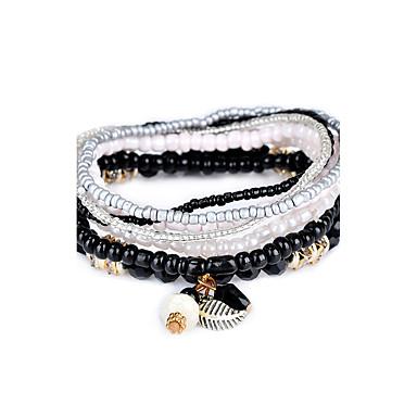 Dames Strand Armbanden Sieraden Natuur Turks Gothic Luxe Sieraden Modieus Doe-het-zelf Hars Cirkelvorm Sieraden VoorFeest Speciale