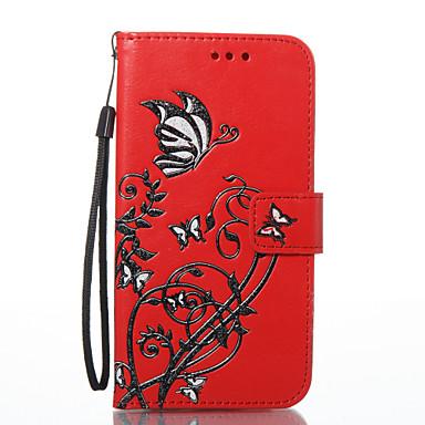 hoesje Voor LG K8 LG LG K7 Kaarthouder Portemonnee met standaard Magnetisch Patroon Volledig hoesje Zacht voor LG G6