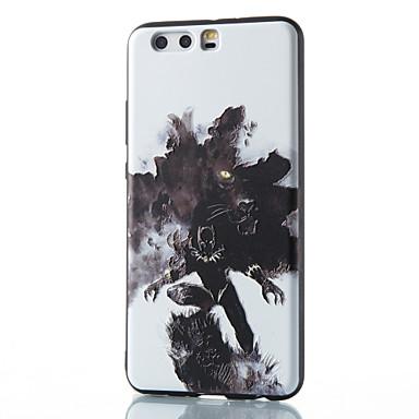 Für Hüllen Cover Muster Rückseitenabdeckung Hülle Tier Weich TPU für HuaweiHuawei P10 Plus Huawei P10 Lite Huawei P10 Huawei P9 Huawei P9