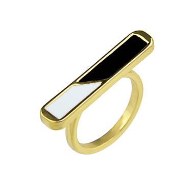 Pentru femei Inel - Aliaj De Bază 7 Auriu Pentru Casual