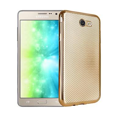 hoesje Voor Samsung Galaxy J7 Prime J5 Prime Beplating Achterkant Effen Kleur Zacht TPU voor J7 Prime J5 Prime J3 Prime
