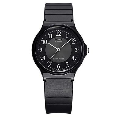 Casio للرجال الزوجين ساعة رياضية ساعات فاشن ساعة المعصم ياباني كوارتز مقاوم للماء مطاط فرقة كوول عادية خلاق أسود