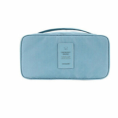 حقيبة أدوات تجميل للسفر منظم أغراض السفر حقيبة كروس مقاوم للماء مضاعف تخزين السفر متعددة الوظائف إلى ملابس الصدرية البوليستر 23*3*1 السفر