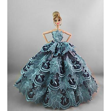 Party/Abends Kleider Für Barbie-Puppe Für Mädchen Puppe Spielzeug