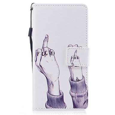 Für huawei p8 lite (2017) p10 Fallabdeckung Handmuster gemaltes PU-Hautmaterialkarte Stentmappe Telefonkasten p10 plus p10 lite