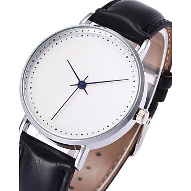 للرجال ساعة المعصم ساعات فاشن ساعة كاجوال صيني كوارتز PU فرقة كاجوال كوول أسود بني
