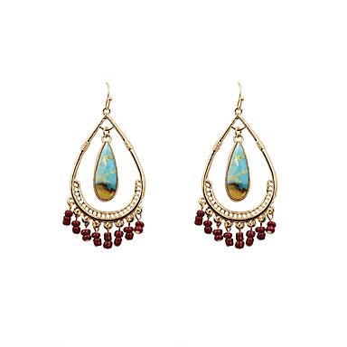 Pentru femei Cercei Picătură Bijuterii Boem Turcă Euramerican Modă Aliaj Oval Bijuterii Cadouri de Crăciun Nuntă Petrecere Ocazie