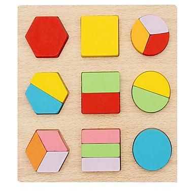 بطاقات تعليمية ألعاب الألغاز لبيع الهدايا أحجار البناء مربع 1-3 سنوات من العمر ألعاب