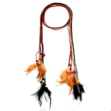 Dames Choker kettingen Sieraden Sieraden Leder Legering Modieus Euramerican Sieraden Voor Feest Speciale gelegenheden 1 stuks