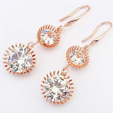 Dames Oorknopjes Druppel oorbellen Ring oorbellen imitatie Diamond Basisontwerp Uniek ontwerp Logostijl Vriendschap Gothic Vintage Movie